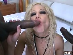 These horny white sluts need some huge black cock immediately! They love the dark meat dick because it is always huge and can give them the good rough fucking that they crave. Hours of movies of black guys fucking white girls in sexy interracial videos. T