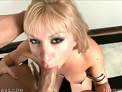 Appealing and dirty babe is ready for blowjob