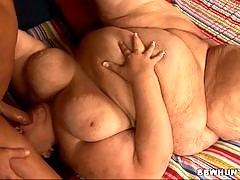 These big broads are willing to get down and dirty for anyone who wants to fuck! Theyve got humongous, plump asses and theyve got dirty little minds that will make your cock take notice. Hungry, horny fat chicks getting poked in all of their hot holes are