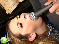 Slutty Terra gets fucked hard down the throat