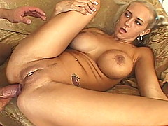 Trina has extremely large tits and a sma...