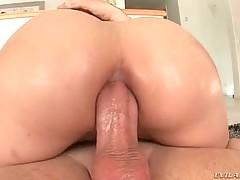 Lovely couple is having nonstop anal penetration