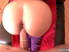 Bitch with huge ass is having nonstop anal sex