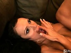 Black Cocks White Sluts - Horny, white b...