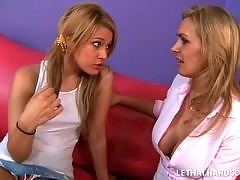 Watch hot lesbian cougars teaching younger girls how to eat pussy! Exclusive HD Quality Hot Lesbians with cute co-eds. MILFS who love to finger fuck and eat fresh co-ed pussy!