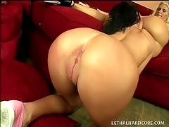 Watch hot lesbian cougars teaching young...