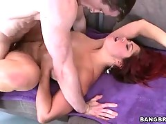 Lovely Helen Cielo is satisfying her dad...
