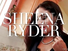 Sexy Sheena Ryder seduces her handsome muscled plumber.