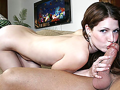 Jenni Lee is a sweet brunette, but the real star of this show happens to be her sweet tits.  Not only are her tits the perkiest I think I've ever seen, but her nipples get in on the act too.  It's so hot to have nipples standing up that damn tall, but her