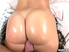 Sweet Latina ass taking as much cock as they can.